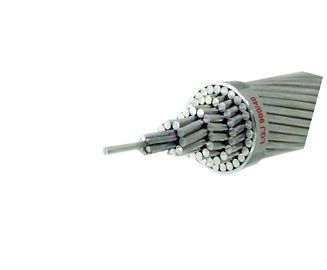 Cina ASTM Standar Overhead Bare Conductor Aluminium Conductor Steel Wire Diperkuat pabrik